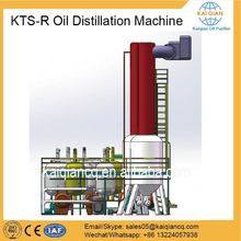 Continuous Black Oil Recycling Machine with Waste Oil Catalyst