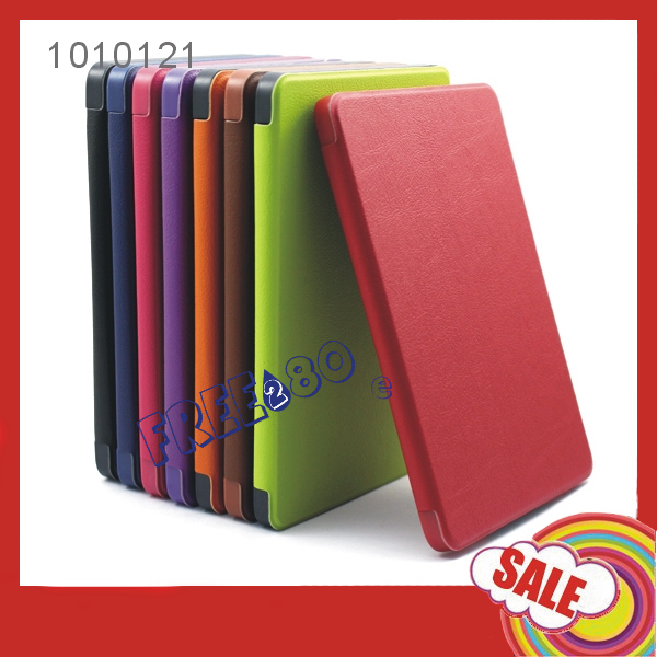 2016 Large size Tablet pc e-books PU Leather Case with Amazong kindle paperwhite