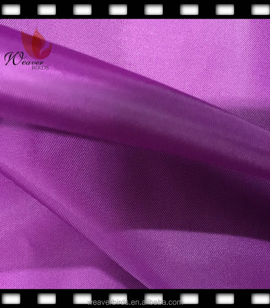 190t polyester taffeta lining fabrics for garment and bags