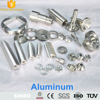 ISO9001 Custom made CNC machined alloy parts & accessories made in china on online