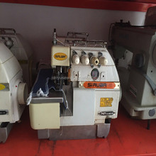 Nice quality used 80%new high speed Siruba-747d INDUSTRIAL 4 thread overlock sewing machine