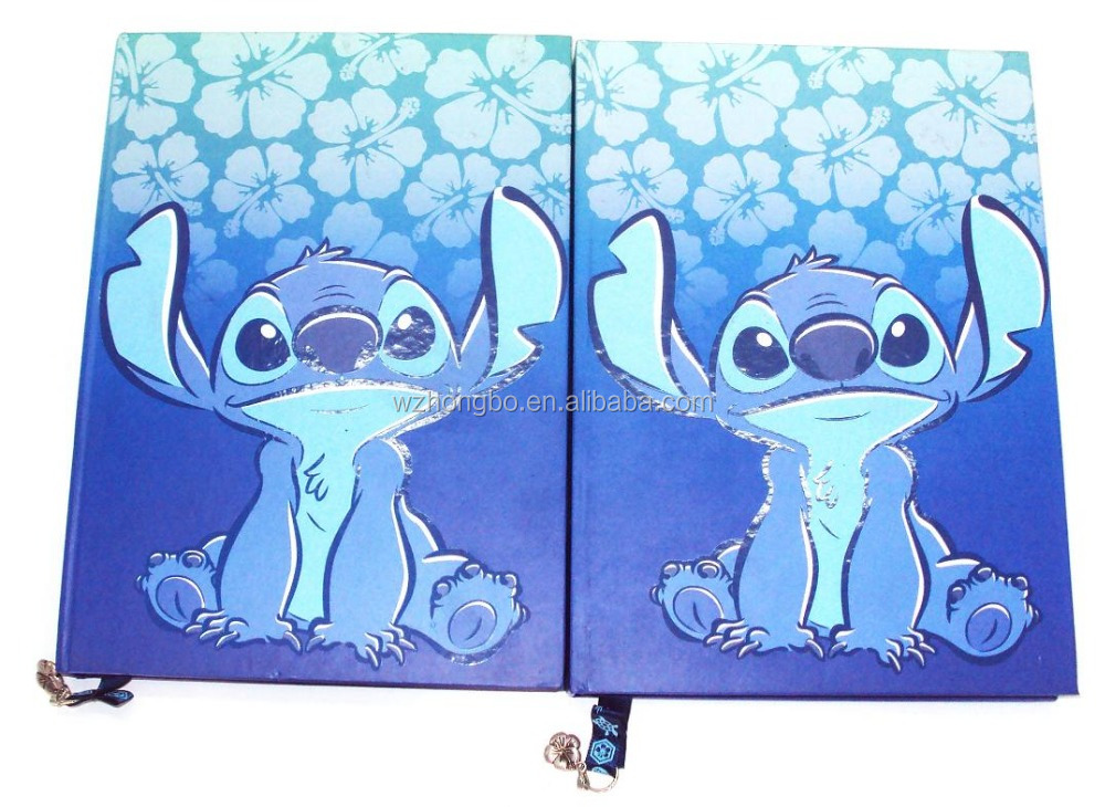 cartoon cover notebook