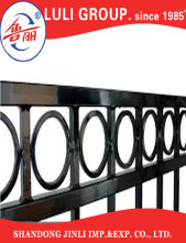 LULI GROUP Steel Manufacture Galvanized Ornamental Aluminum fence pickets