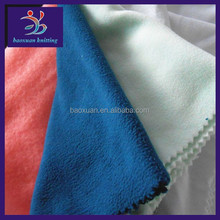 wholesale 100% polyester fleece fabric to make baby bibs