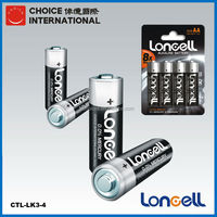 LONCELL high power AM-3 LR6 1.5V AA alkaline dry battery