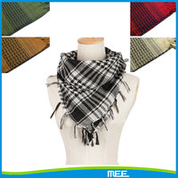 Fashional military cotton Shemagh keffiyeh arab scarf