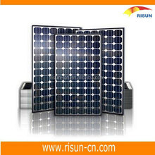 CE approved 90w mono solar panel with solar cell production line for solar electricity generating system