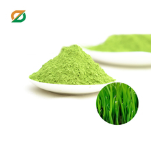 making wheatgrass juice instant flavoured drink powder