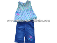 baby jeans set factory kids clothes set wholesale baby clothing set babywears