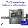 MIC-12-1 Germany standard TOP quality full automatic small scale Plastic Can filling sealing machine with CE 1000-2500Can/hr