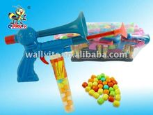 Shoot Gun With Horn Toy Candy