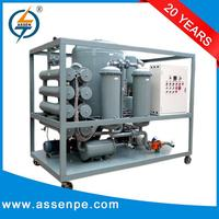 Two stage vacuum used transformer oil recycling machine