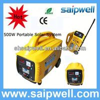 2013 new portable mini projects solar power systems 500w