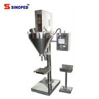 Semi Automatic 200G To 25Kg Abc Dry Powder Filling Machine For Fire Extinguisher