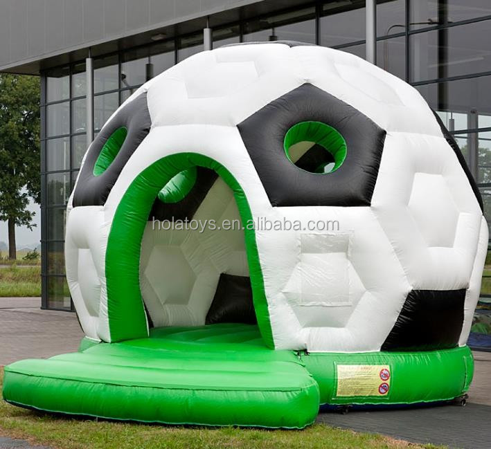 Hola football inflatable bouncer/new inflatable bouncy castle for sale