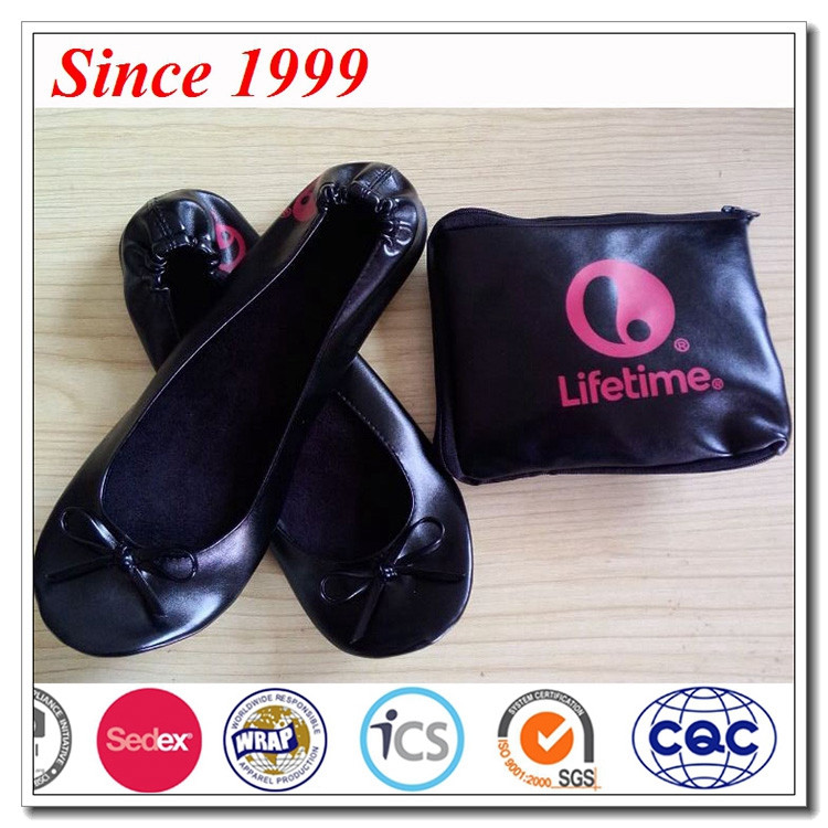 All Kinds Of Slippers Fashionable Custom Indoor Warm Foldable Ballerina Slippers Womens