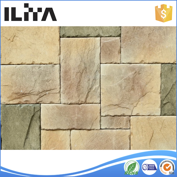 Fireproofing Building Materials, Exterior Wall Tile, Field Stone Decorative Garden (YLD-30017)
