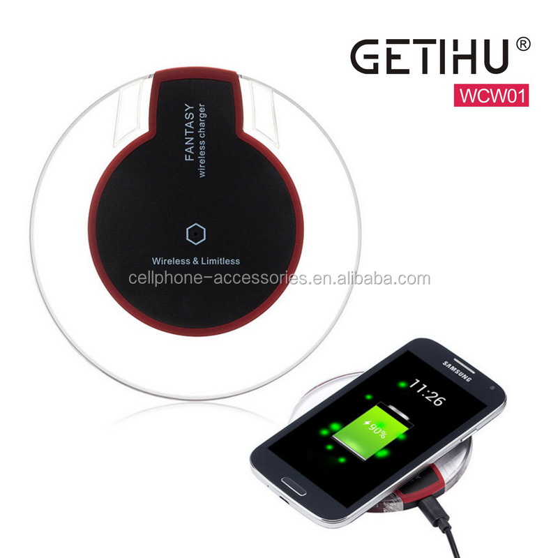 Newest wireless android tablet charger ,phone wireless charger qi standard
