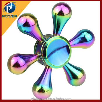 Factory supply colorful finger toys hand spinner