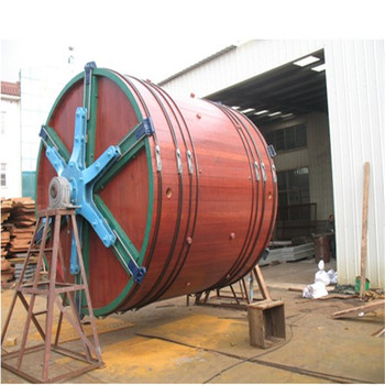 3500X3500mm normal tannery leather tanning wooden drum