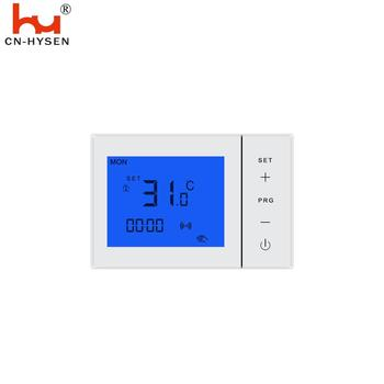 Blue backlight 5+2 days programmable infrared thermostat