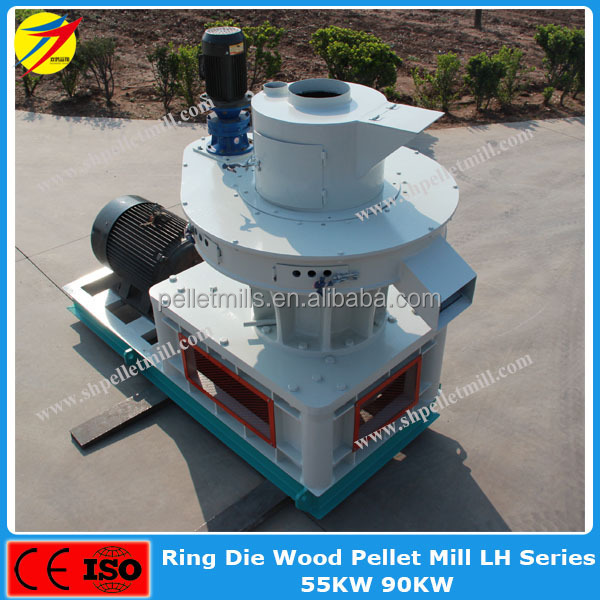 double crane brand 90kw chaff pelleting mill with ce