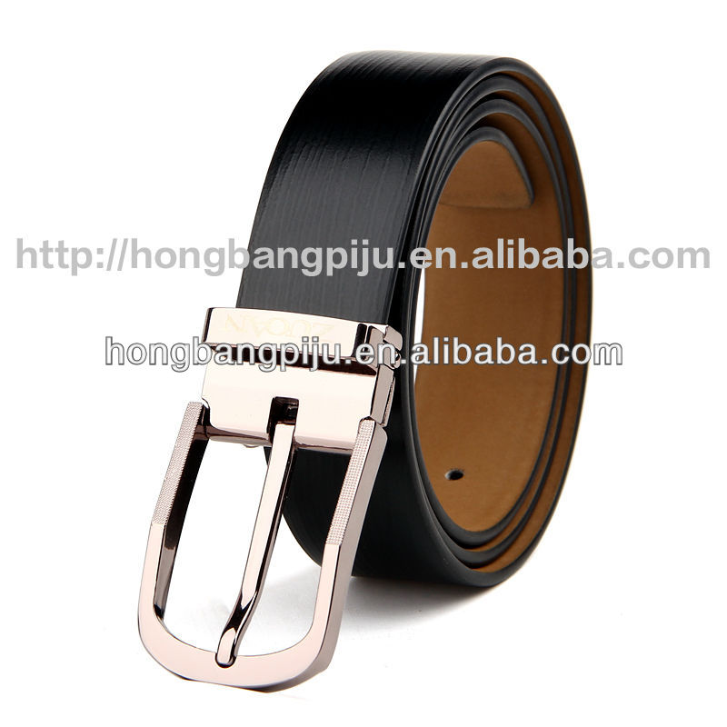 2014 Brand New Mens leopard automatic buckle casual Fashion Black luxury western cow leather belts men