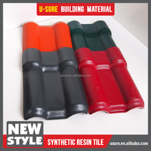 roof heat protection / sound insulation roof canopy material / garden gazebo polymer roof tile