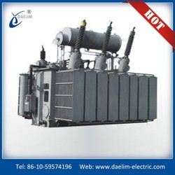 242kv Three Phase Double Winding Forced Oil Circulation Power Transformer