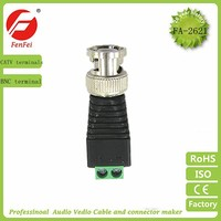 Wholesale Green BNC Male Connector To Screw Terminal