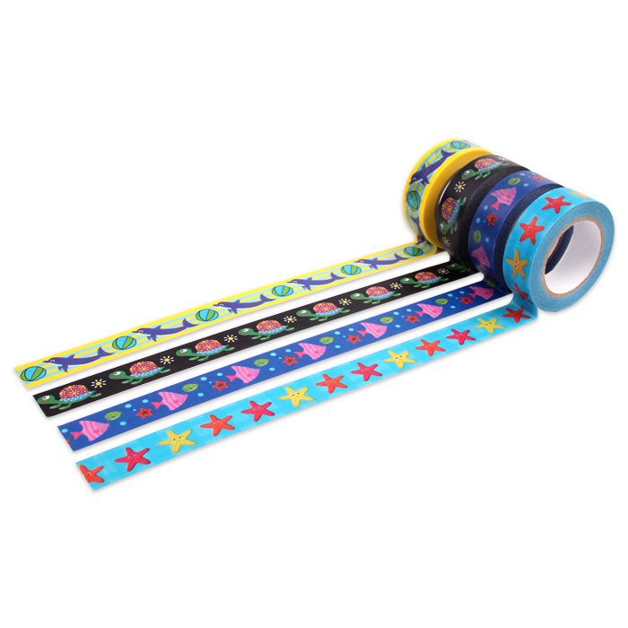 INTERWELL CBT51 High Quality Washi Material Paper Tape For Children