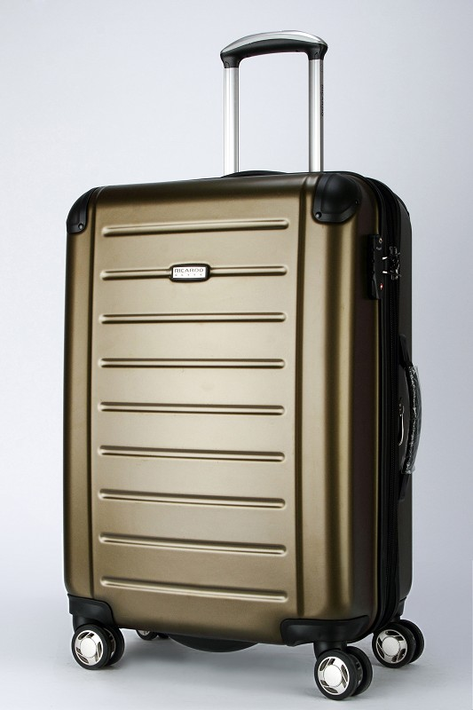 2014 newest style trolley case ABS luggage