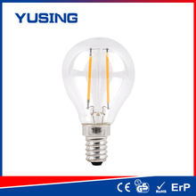 LED products 360lm 4w e27 A45 glass LED bulb LED bulb 2w emitting diode