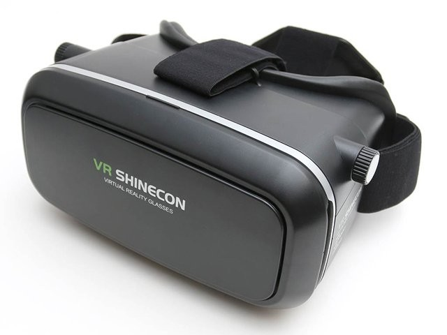 2016 VR Shinecon 3d Virtual Reality Glasses Head Headset VR Box 3D Glasses + Bluetooth Controller/Gamepad