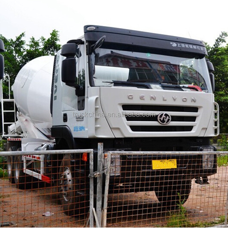 HONGYAN GENLYON 9 cubic meters concrete mixer truck for sale in dubai