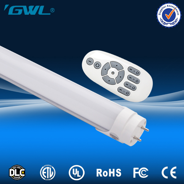 High Efficient universal remote control T8 Led Tube Light integral tube 1.2m 18w