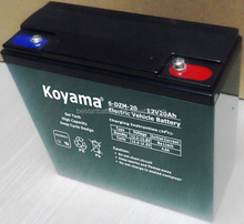 6-DZM-20 12v20ah electric bicycle battery