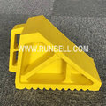 Yellow Rubber Truck Chocks 270X117X80MM