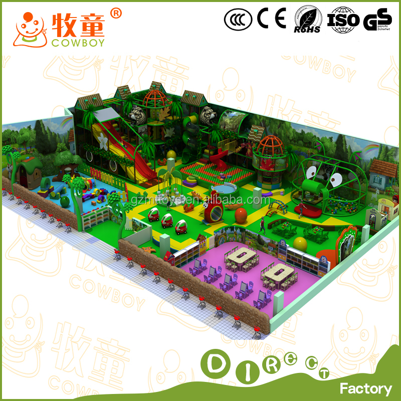 China Manufacturer Used Commercial Children Electric Indoor Playground Equipment