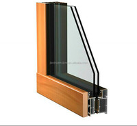 China supplier Australia standard aluminum clad wood windows and doors