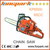 Good guality and cheap garden tools 65CC petrol chainsaw ,wood cutting gasoline chain saw