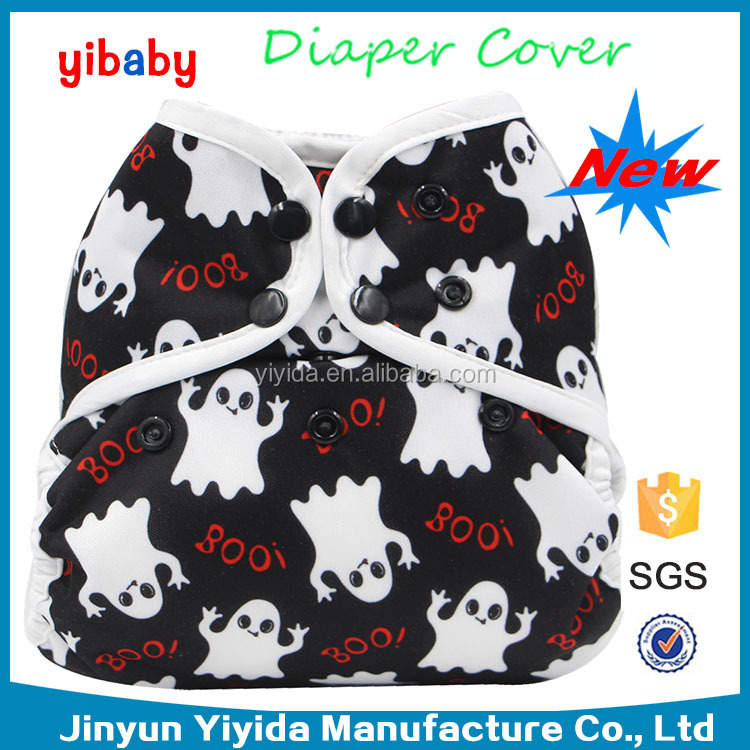 New brand 2017 waterproof happy baby diapers pul cloth diapers inserts manufacturers cover