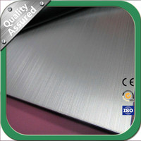 Brushed Astm 316L 300 Series Stainless Steel Plate