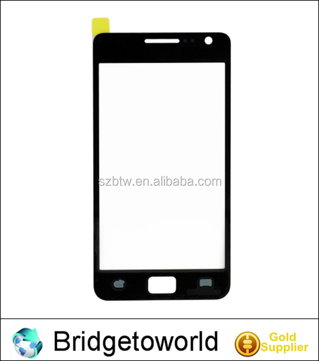 Best quality outer glass for samsung galaxy s2 touch screen spare parts