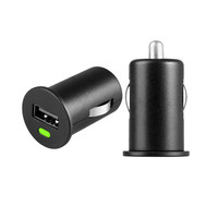Tiny design, 5V 1A phone tablet usb car charger