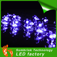 Hot sale christmas led flower tree light blossom lights