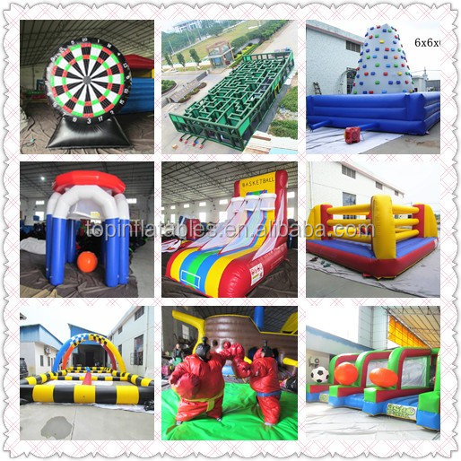 A1-TOP inflatable paintball arena ,paintball field