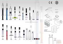 sterile safety cbd oil syringe with CE, ISO certificate, desechable seguridad jeringas