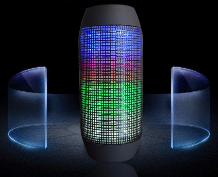 New Best Small led bluetooth speaker portable Bluetooth Speaker With LED Light 2017