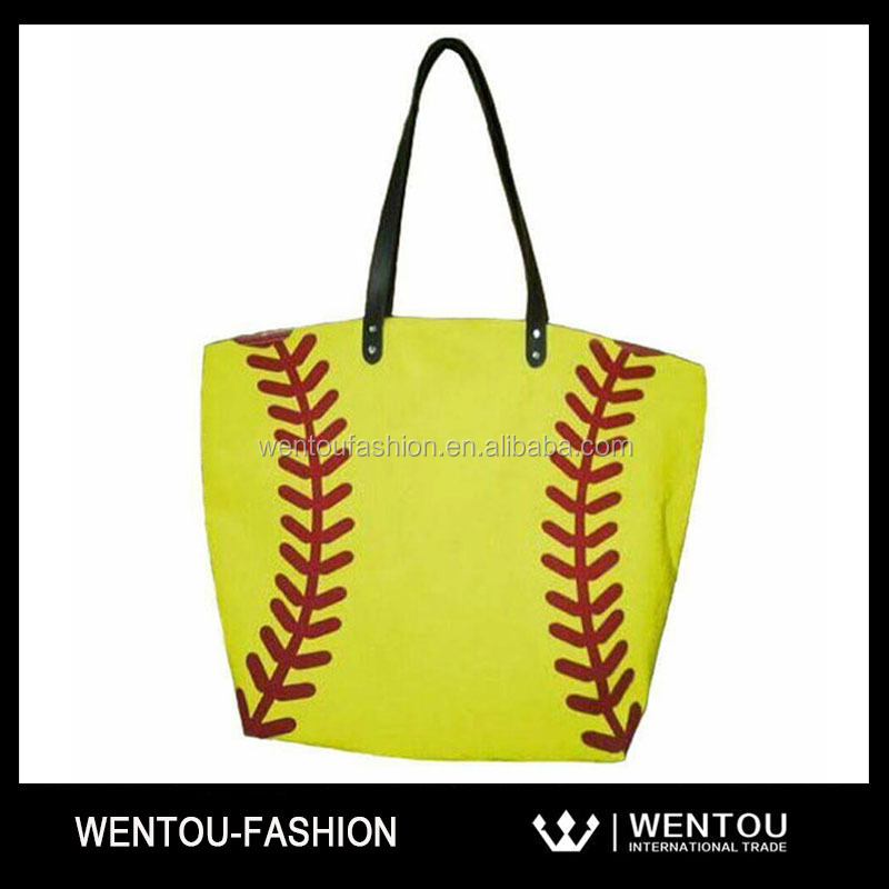 Monogram Blank Softball Sports Bag